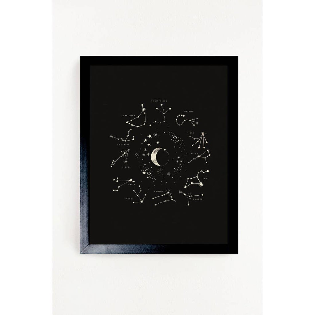 The Astrology Art Print - 11 x14