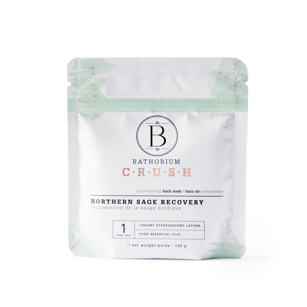 The Northern Sage Recovery CRUSH Bath Soak