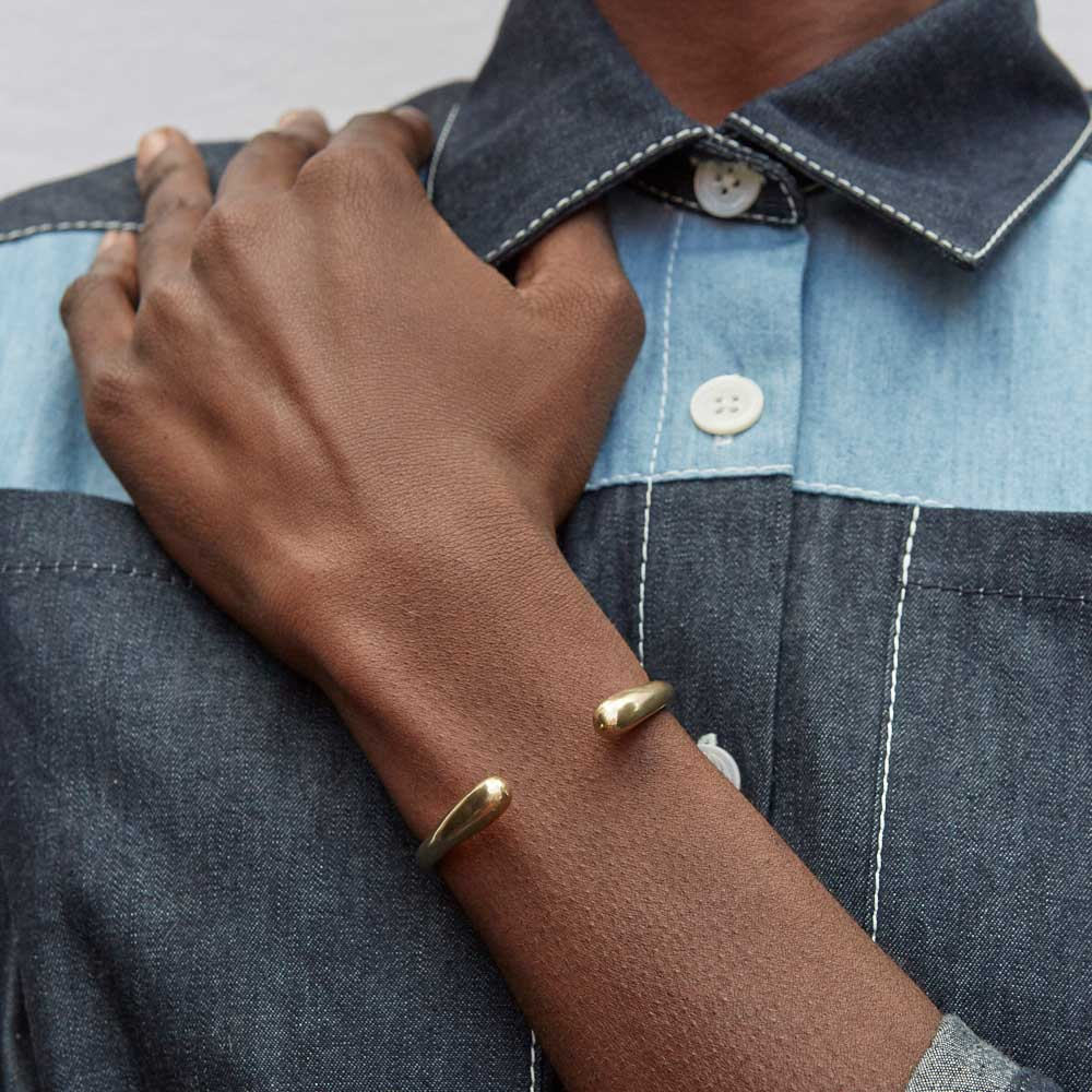 The Delicate Dash Cuff Bracelet