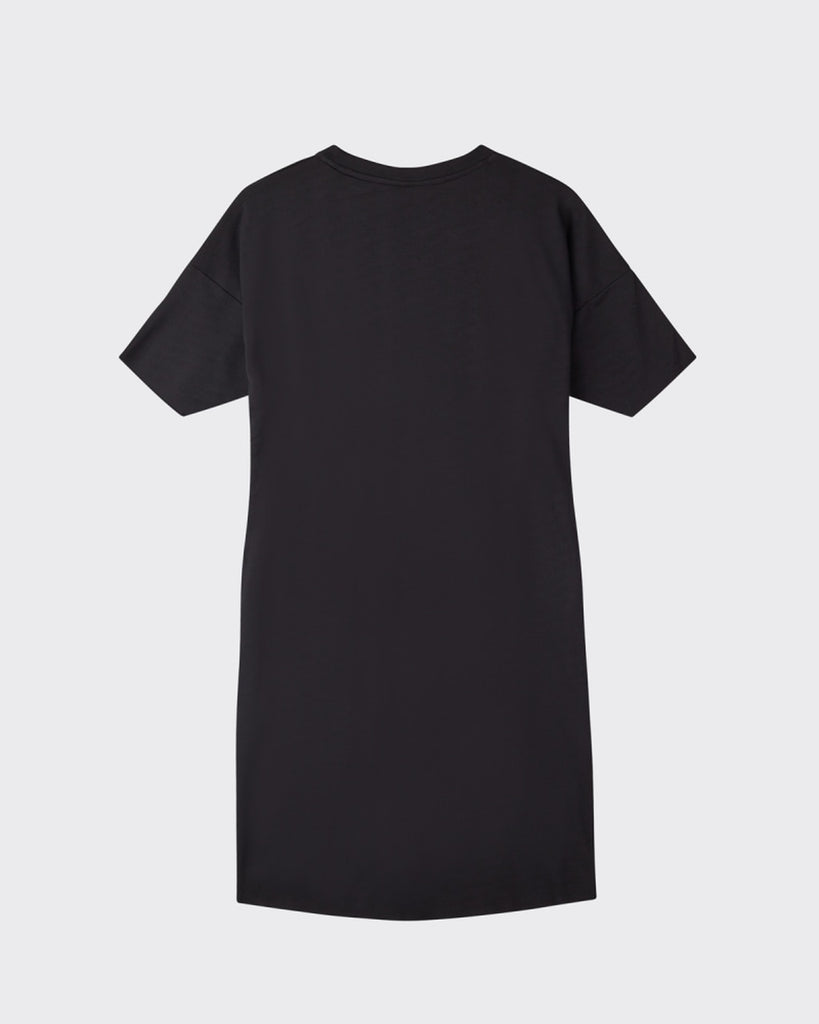 The Regitza Shirt Dress by Minimum - Black
