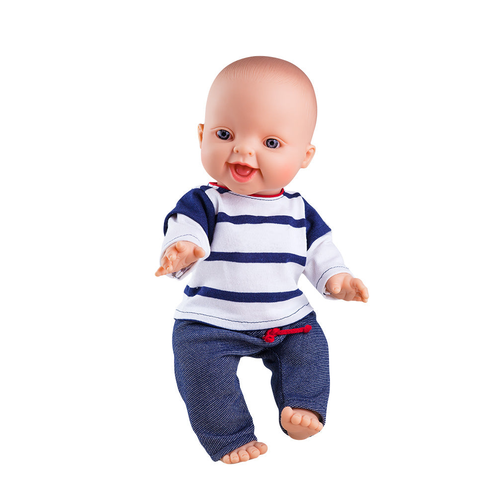 The Baby Doll CLOTHING - Stripe Denim Set