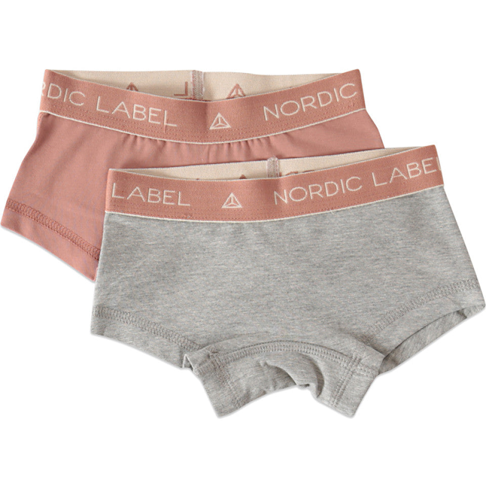 The Hipster Panties 2 Pack - Baby - Grey