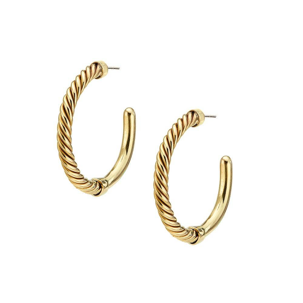 The Uzi Hoop Earrings