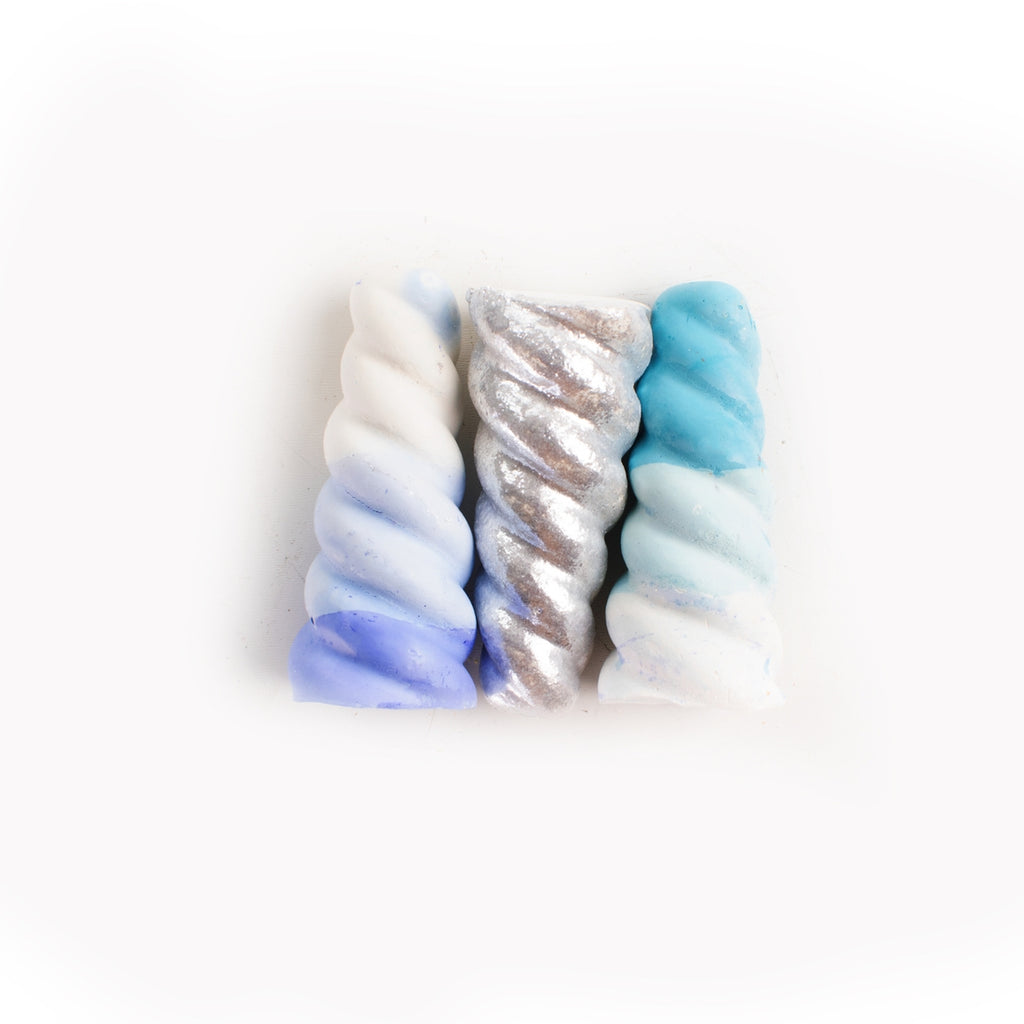 The Narwhal Horn Sidewalk Chalk 3 pack