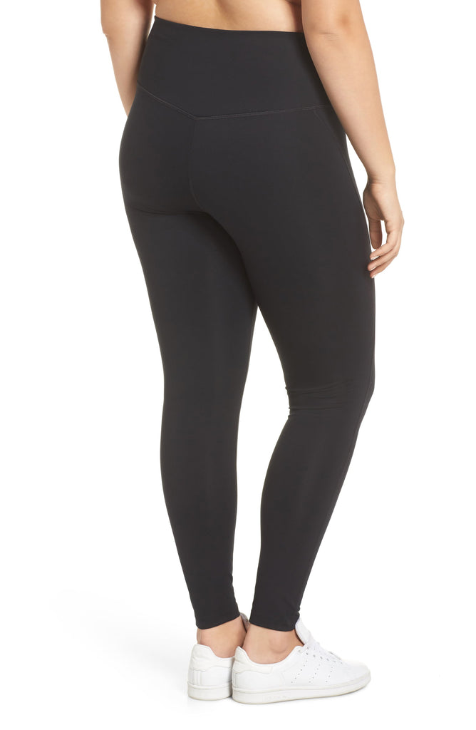 The Compressive High Rise Legging - Black - PLUS