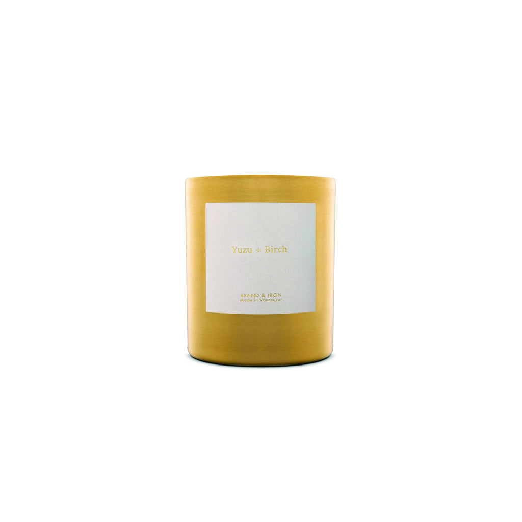 The Brand & Iron Goldie Candle - Yuzu + Birch