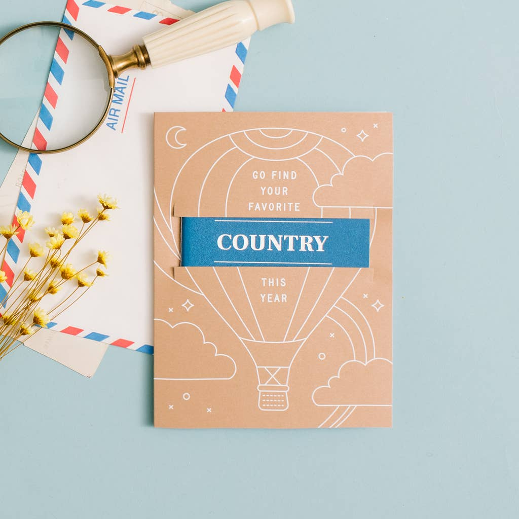 "The Passport ""Favorite"" Greeting Card"