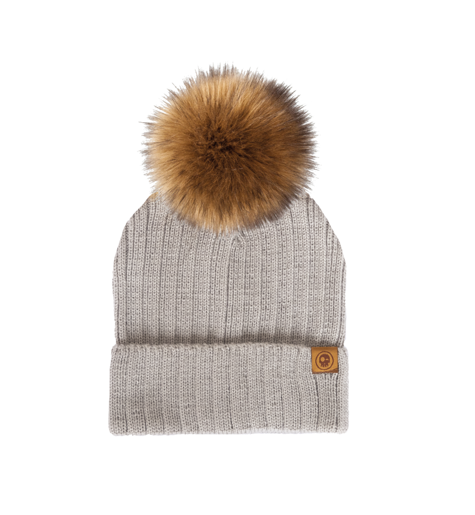 The Classy Pom Toque by Headster - Grey