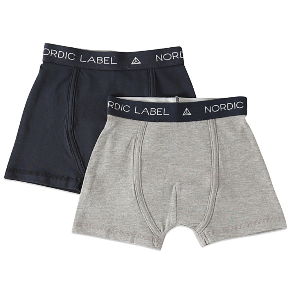 The Boxer Shorts 2 Pack - Grey