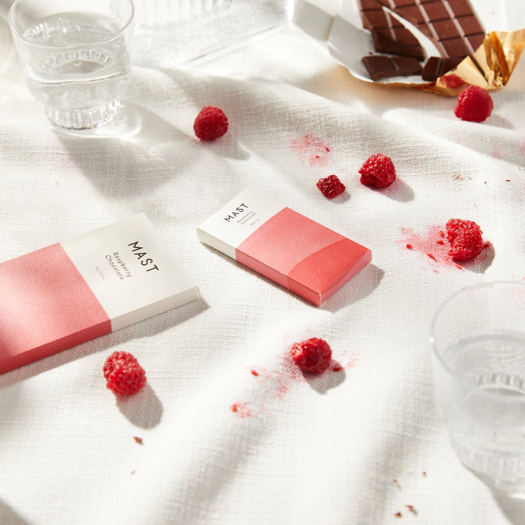 The Mast Chocolate Bar - Raspberry