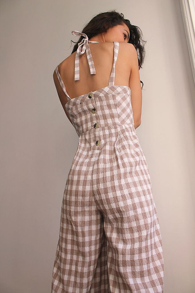 The Zuzu Jumpsuit by Free People - Natural