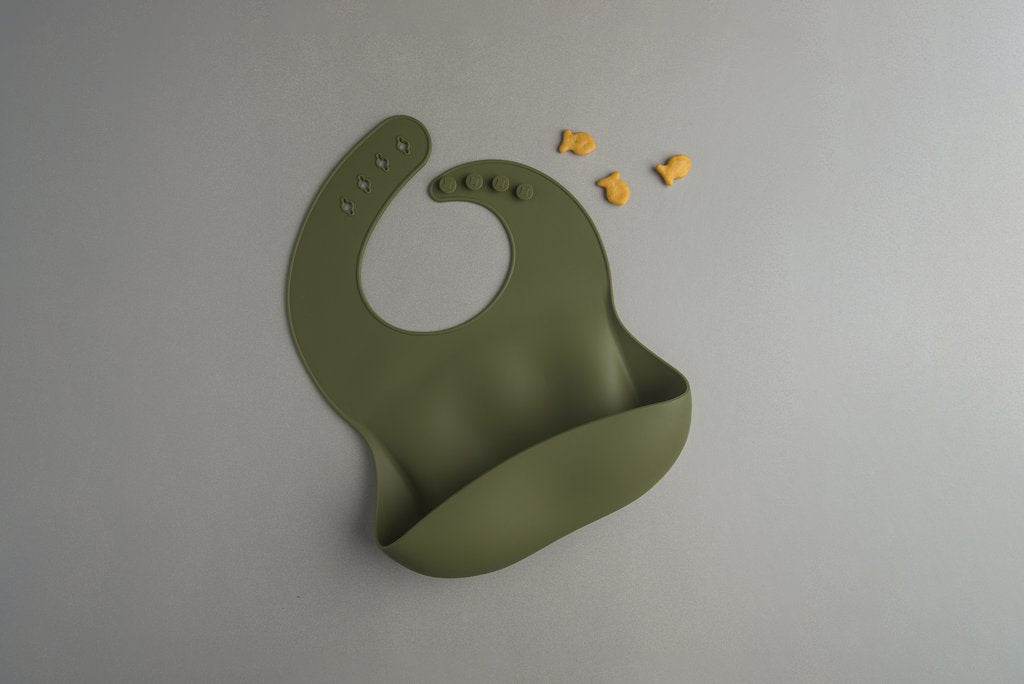 The LouLou Silicone Bibs - Solids