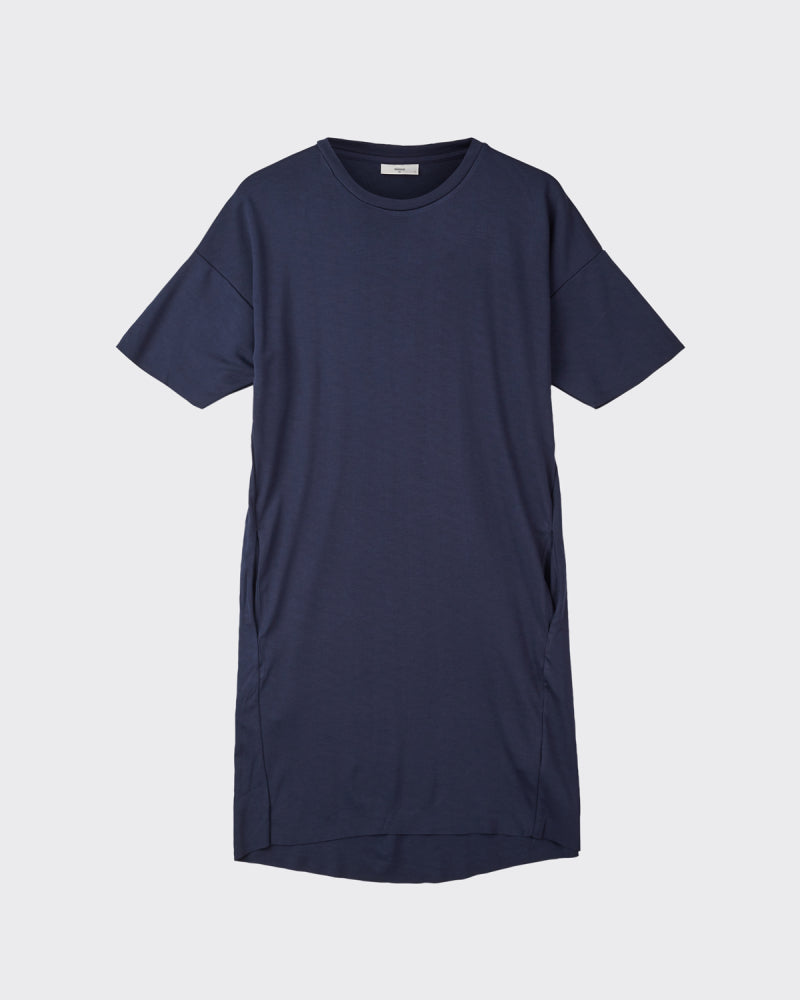 The Regitza Shirt Dress by Minimum - Navy