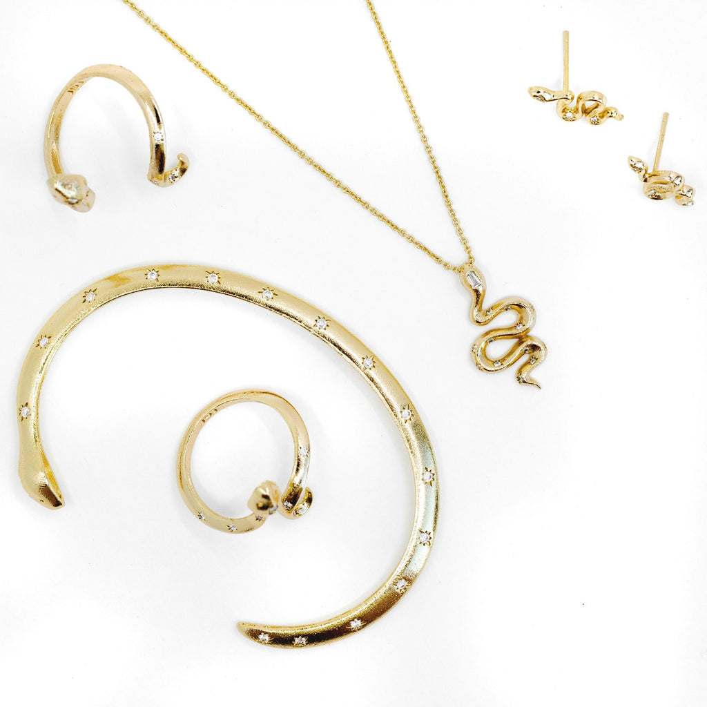 The Guardian Snake Hoops