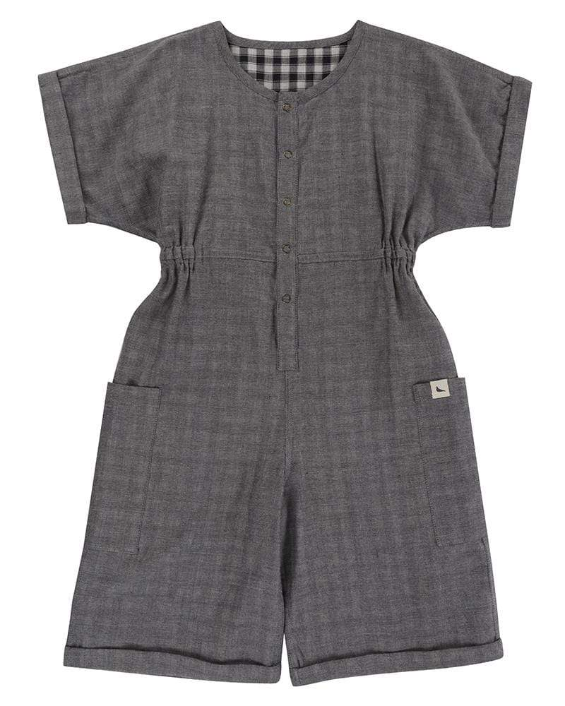 The Reversible Check Jumpsuit