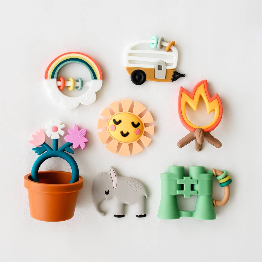 The Animal Lover Teether Set