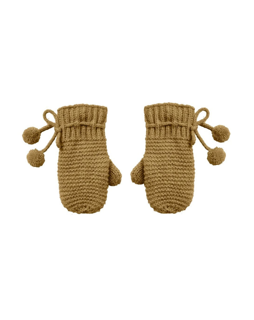 The Pom Mittens by Rylee & Cru - BABY - Goldenrod