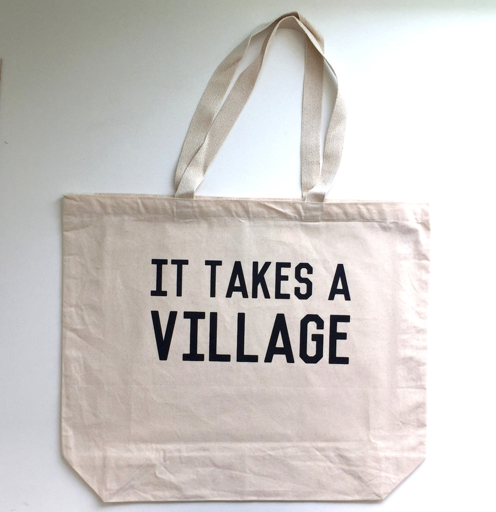 The Canvas Tote Bag - Village