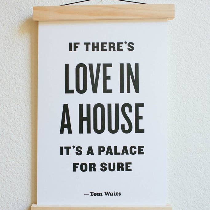 The Love In House Print