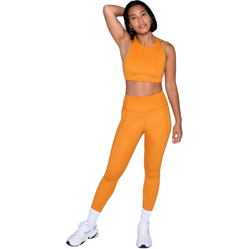 The Compressive High Rise Leggings - PLUS -Honey