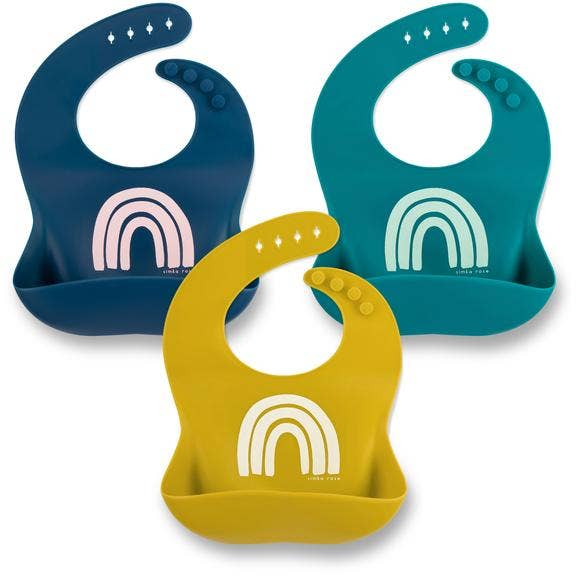 The Rainbow Bibs - Pack of 3