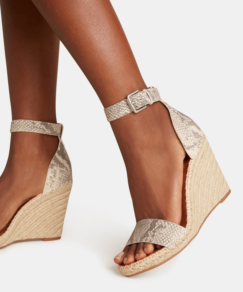The Noor Wedge by Dolce Vita - Snakeskin