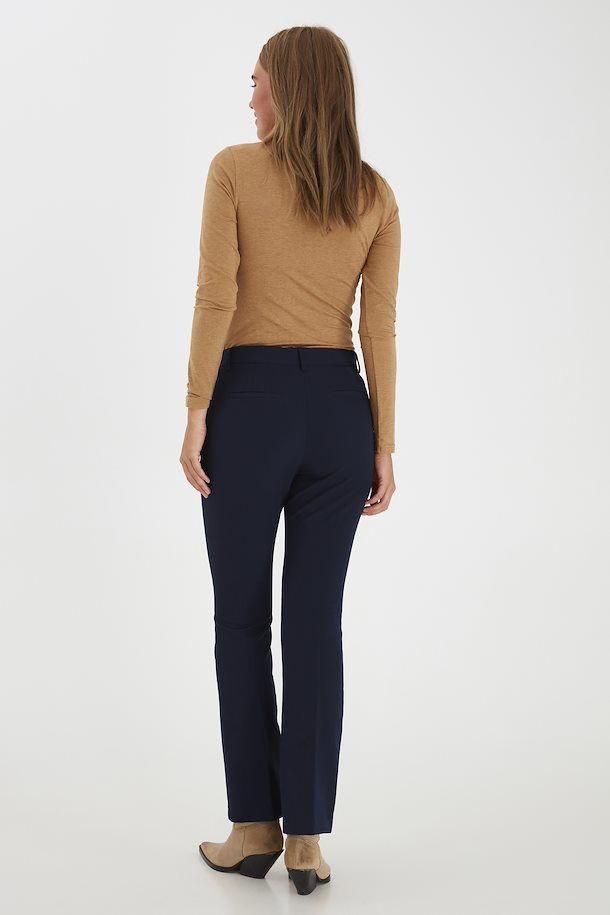 The Elinor Trouser - Navy - PLUS