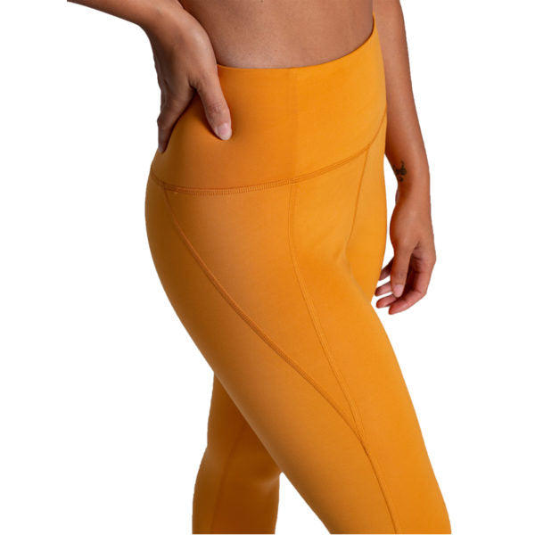 The Compressive High Rise Leggings - Honey