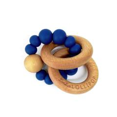 The Bubble Wood Teether - Sapphire