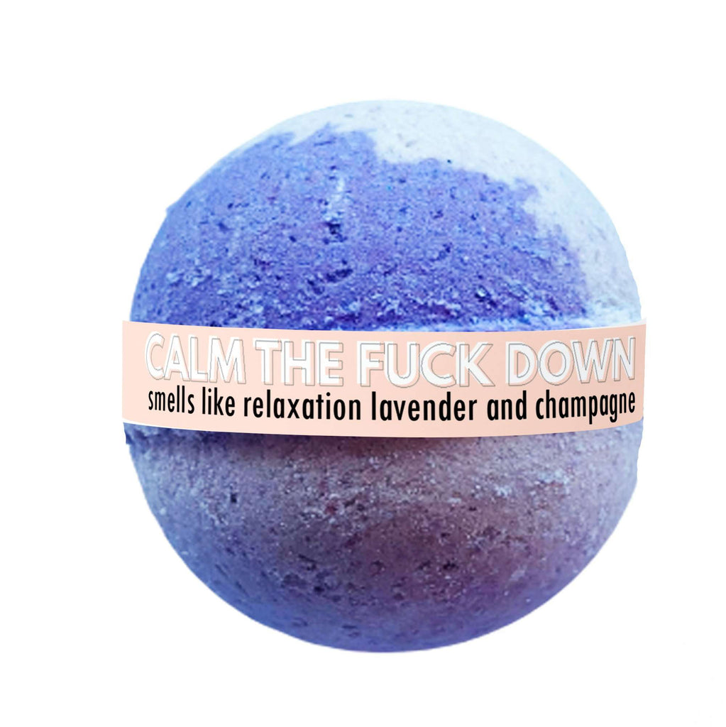 The Calm The F**k Down Bath Bomb