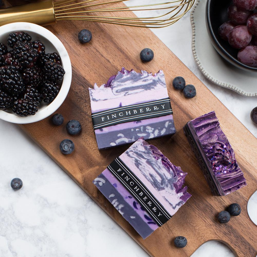 The Handcrafted Vegan Soap - Grapes of Bath