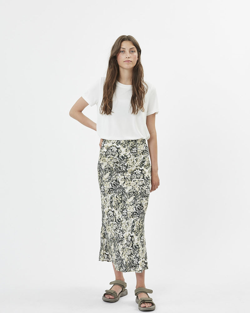 The Albi Skirt by Minimum - Deep Forest - PLUS
