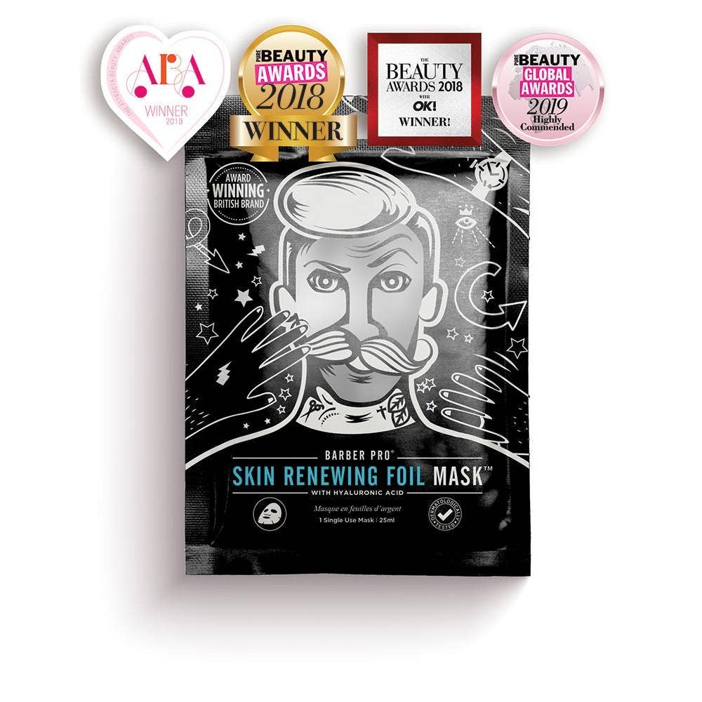 The Skin Renewing Foil Mens Mask