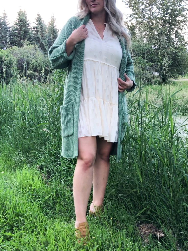 The Erinn Cardigan - Spearmint