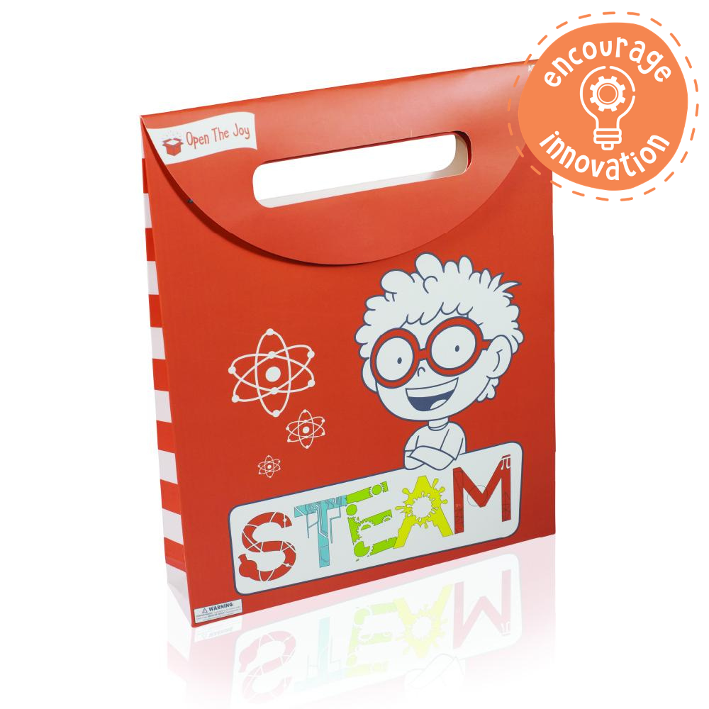 The S.T.E.A.M. Build Together Activity Bag