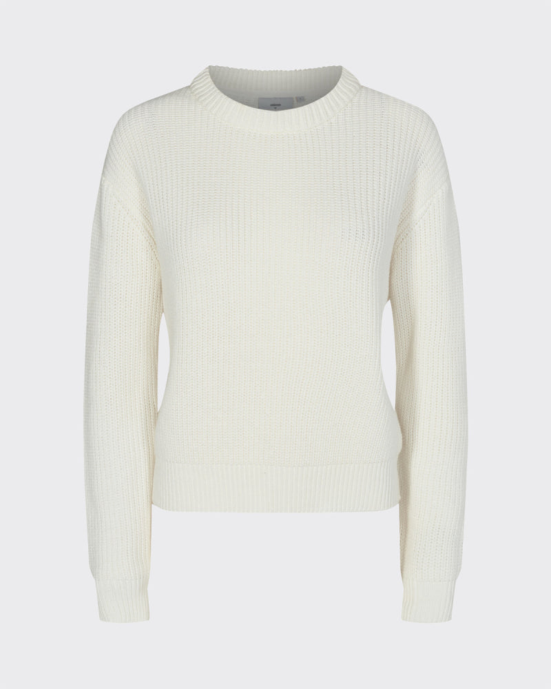 The Mikala Sweater by Minimum - Broken White