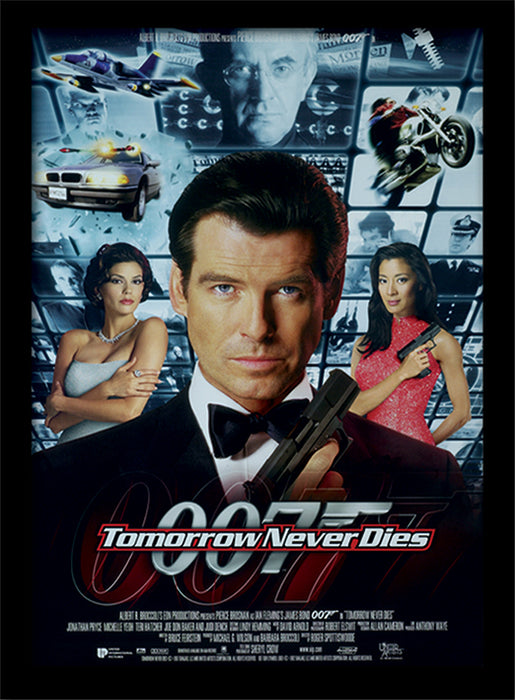 James Bond (Tomorrow Never Dies One-sheet)
