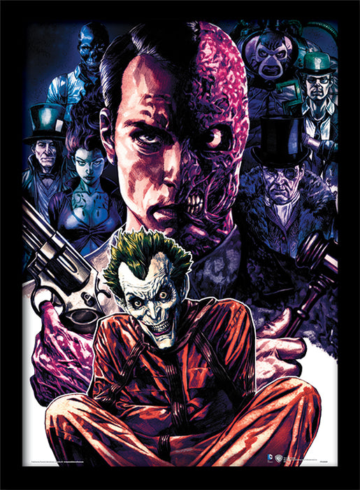 DC Comics (Criminally Insane)