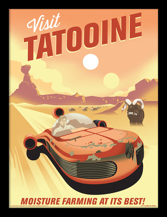 Star Wars 40th Anniversary (Tatooine)
