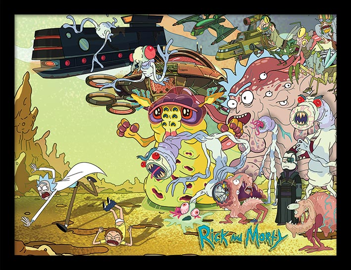 Rick and Morty (Creature Barrage)