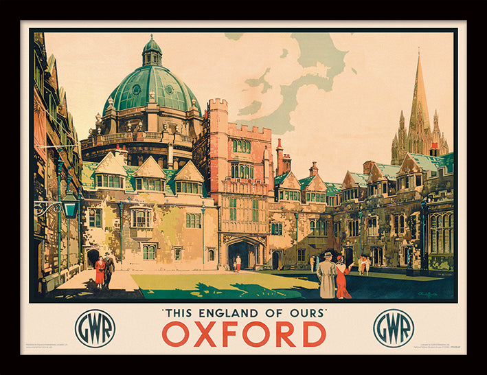 Oxford (Courtyard by Claude Buckle)