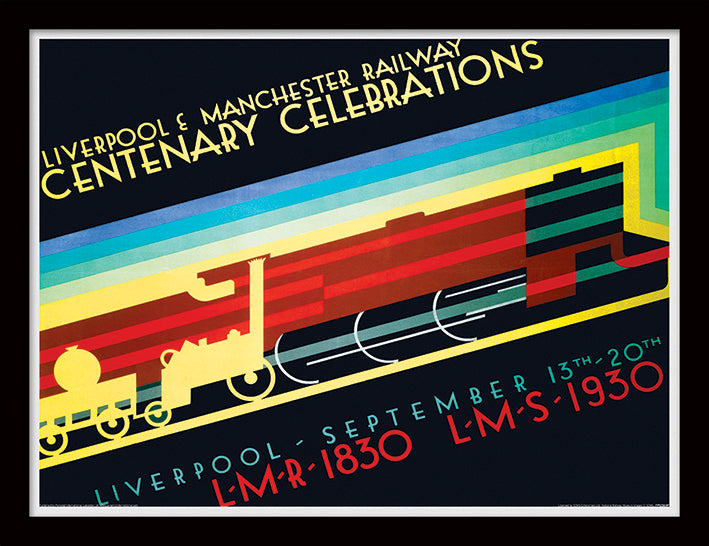 Liverpool & Manchester (Centenary Celebrations by P Irwin Brown)
