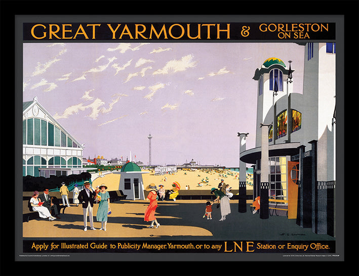 Great Yarmouth (& Gorleston on Sea by H G Gawthorn)