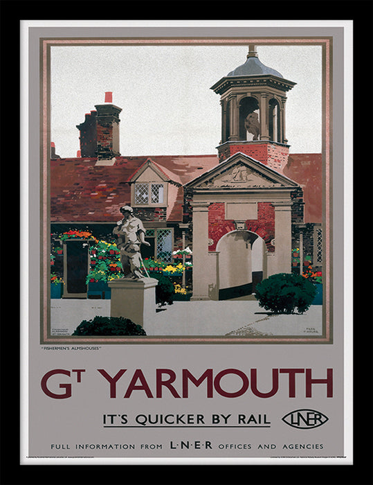 Great Yarmouth (Fishermen's Almshouses by Fred Taylor)