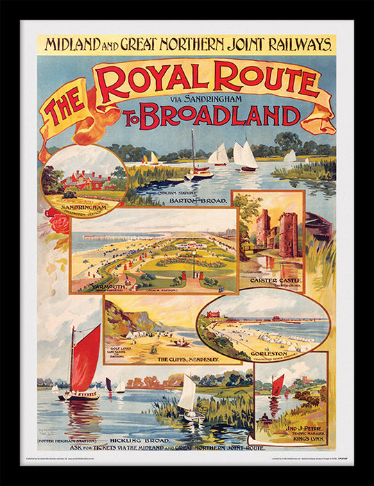 Norfolk (The Royal Route to Broadland)