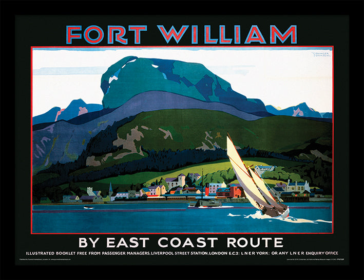 Fort William (Sailing Boat by Grainger Johnson)