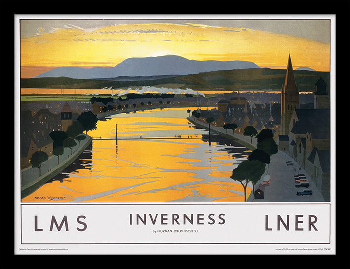Inverness (River Ness by Norman Wilkinson)