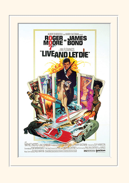 James Bond (Live & Let Die One-sheet)