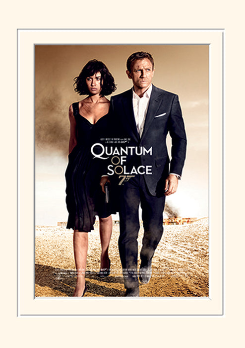 James Bond (Quantum of Solace One-sheet)