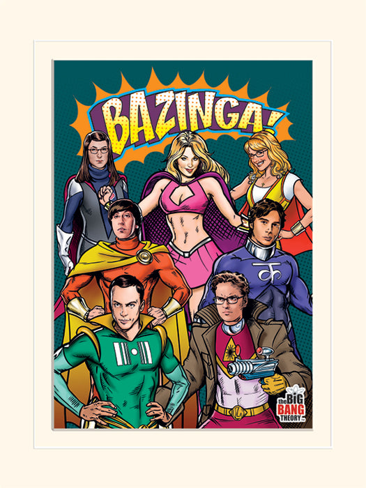 The Big Bang Theory (Superheroes)